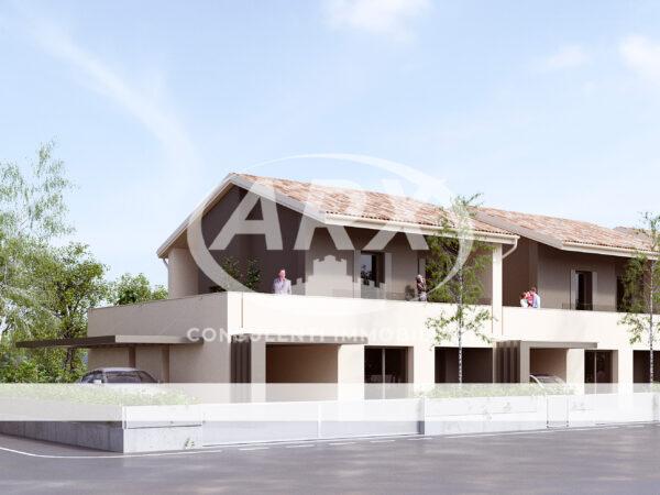 arx consulenti immobiliari casa a schiera trifamiliare vedelago nuova costruzione
